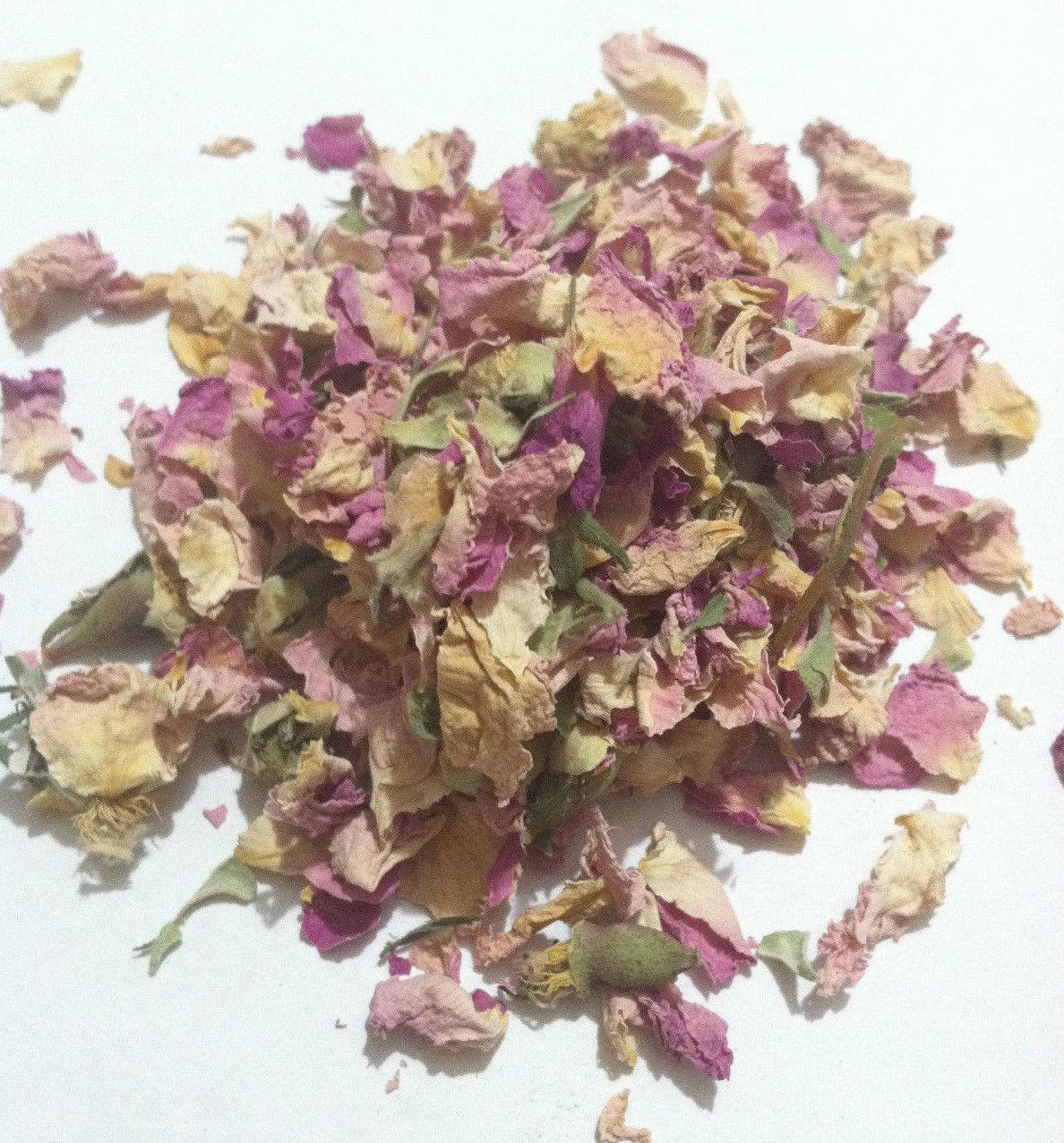 1 oz Roses Pink (Rosa sp.) Organic & Kosher Morocco – Our Sacred Garden